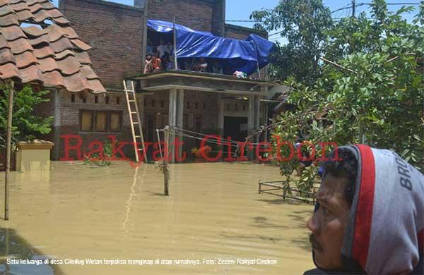 sejumlah wilayah timur cirebon terendam banjir