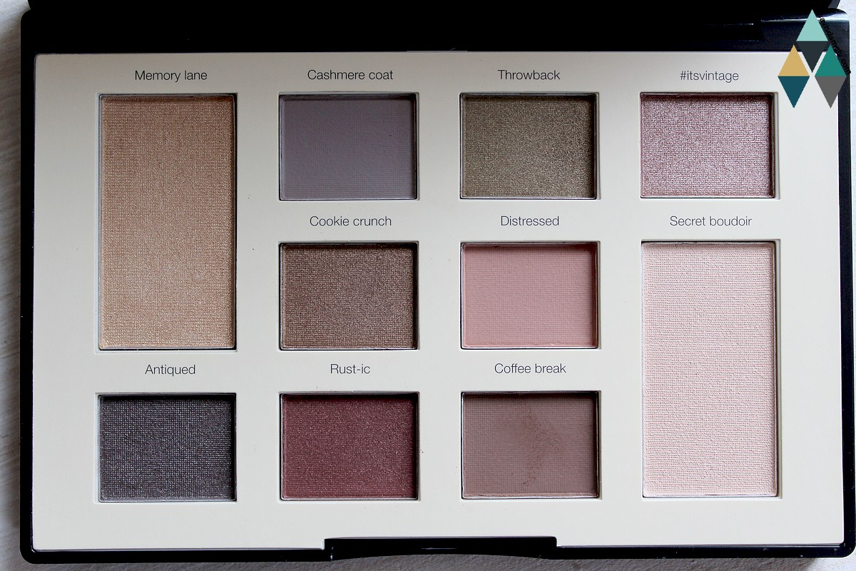 nude et naturel maquillage palette