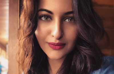 sonakshi on a modern look