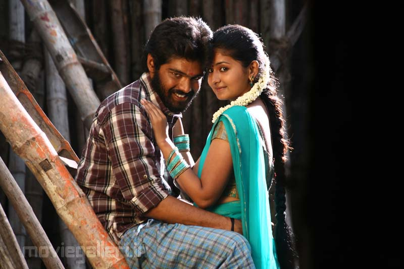 Aadith & Reshmi Menon Romancing In Theneer Viduthi Movie