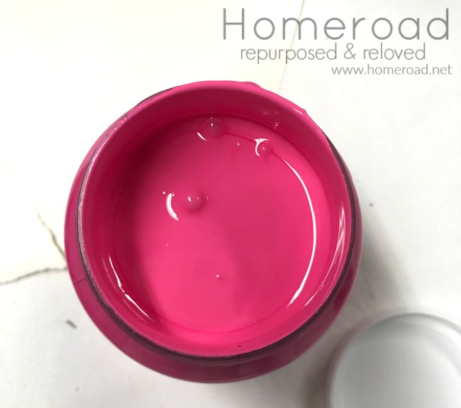 CUREiously Pink Fusion Mineral Paint for a CURE