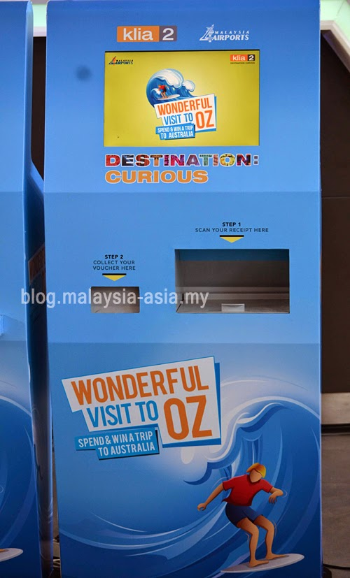 Destination Curious Kiosk KLIA2