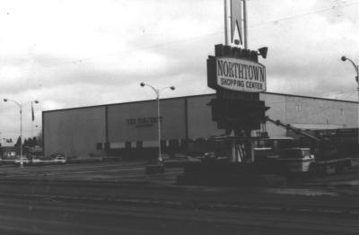 Arlington Barber Shop >> Vintage Spokane: Northtown Shopping Center