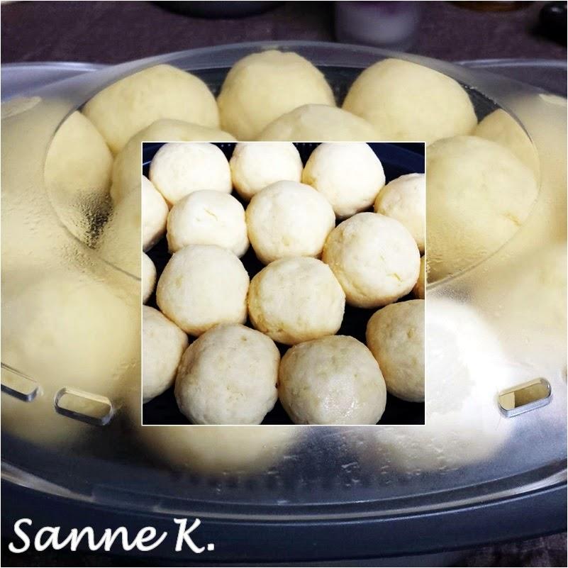 Kartoffelknödel halb & halb (Kombi aus TM und garen im
