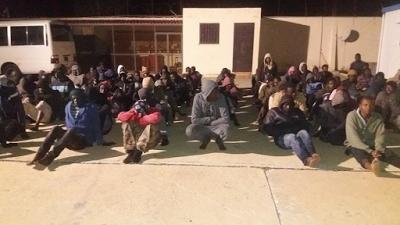 1000 African migrants rescued by Libyan coastguards
