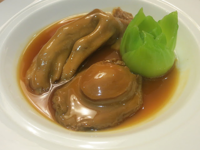 Braised Australian Whole Abalone (3-head) with Goose Web