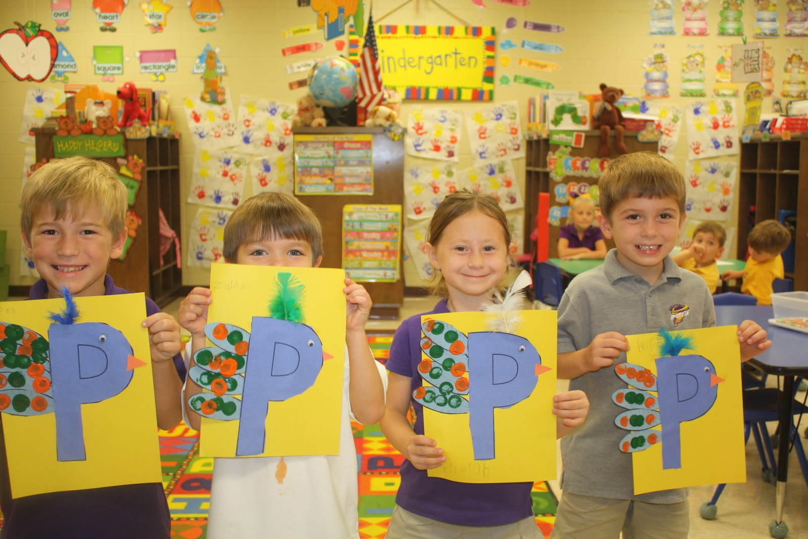 Ms. Marzoni's Class: Seasons and Letter Pp