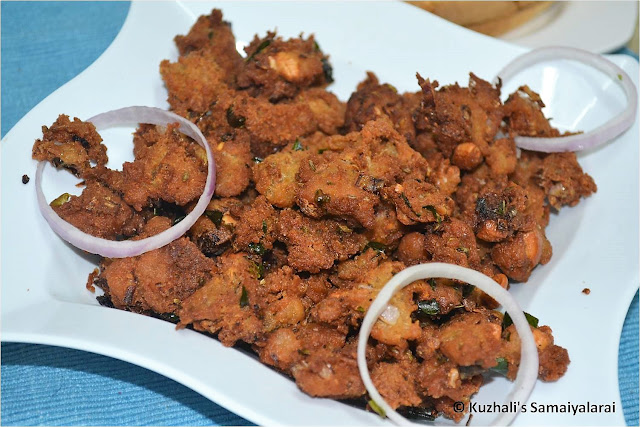 BREAD ONION PAKODA /BREAD ONION PAKORA RECIPE - LEFTOVER BREAD RECIPES
