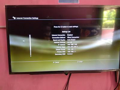 Menyambungkan PS3 Ke Laptop Dengan LAN 24