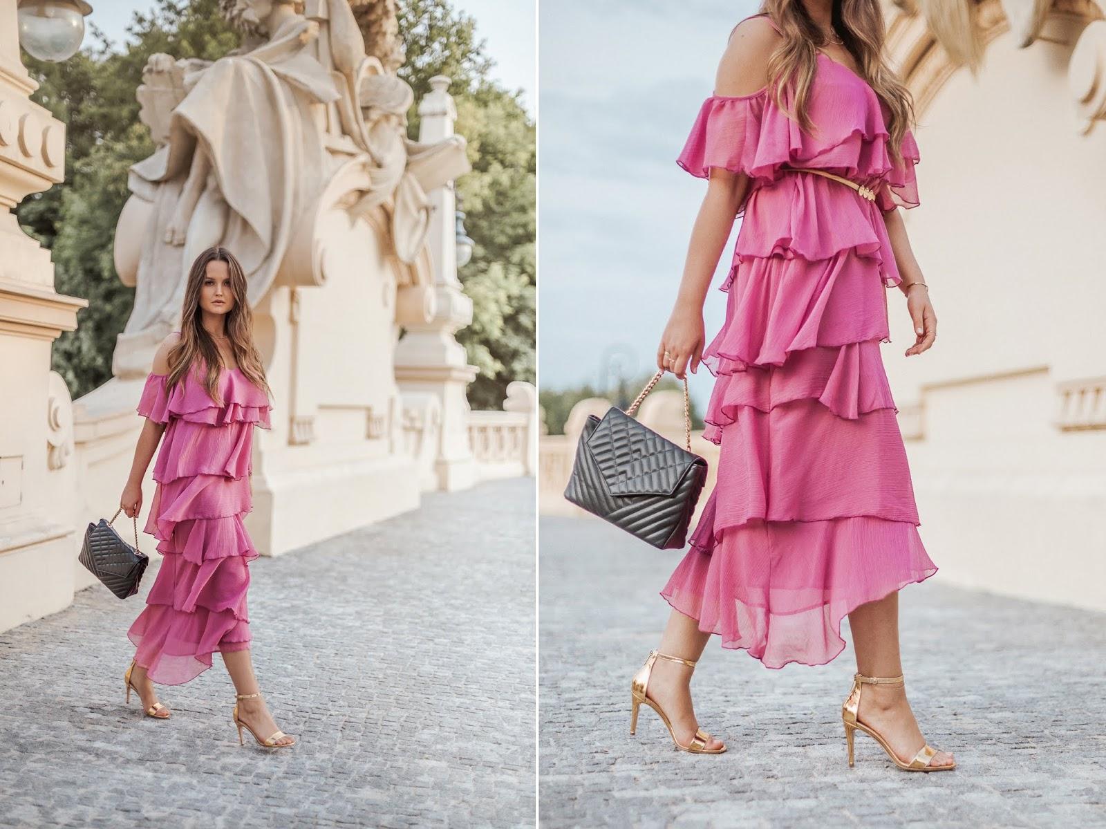 1bdae4a3 Różowa sukienka na wesele- jakie buty?