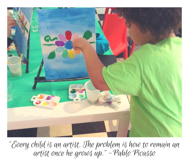 Every child is an artist... - Pablo Picasso #quote
