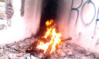 Muere jovencita en la India violada y quemada viva
