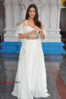 Telugu Actress Amyra Dastur Stills in White Skirt and Blouse at Anandi Indira Production LLP Production no 1 Opening  0119.JPG