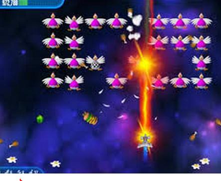 أحدث اصدار لعبة الفراخ 2018 chicken Invaders