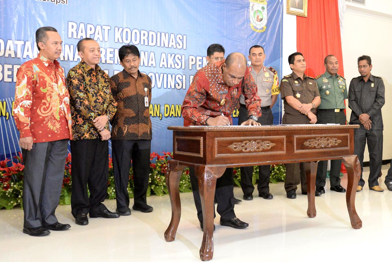 KLHK Komitmen Melakukan Pencegahan Korupsi