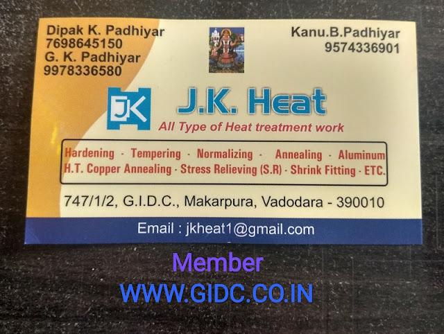 J K HEAT - 9574336901