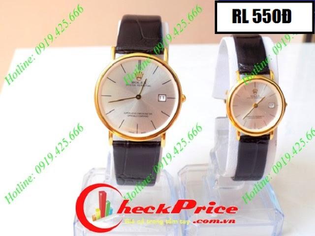 Đồng hồ dây da Rolex 550Đ