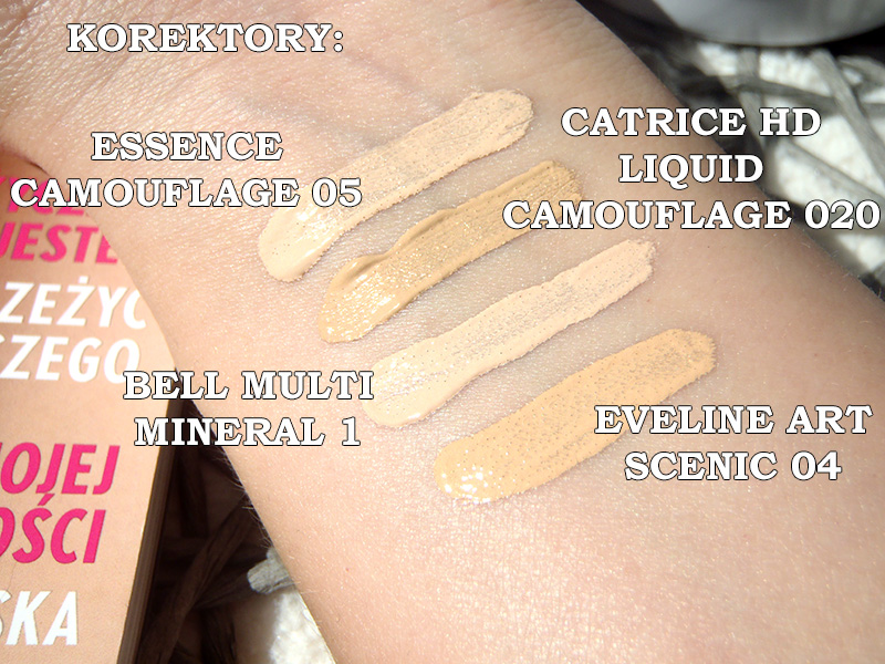 Essence Camouflage full coverage, Essence Camouflage opinia