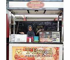 Lowongan Kerja Karyawan Outlet Roti T-Bread di Kantin Kampus Unhas
