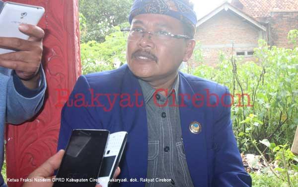 ketua fraksi nasdem kabupaten cirebon tepis ada perpecahan