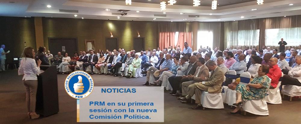 El PRM anuncia encabezará movilizaciones y apoyarán demandas de la sociedad civil
