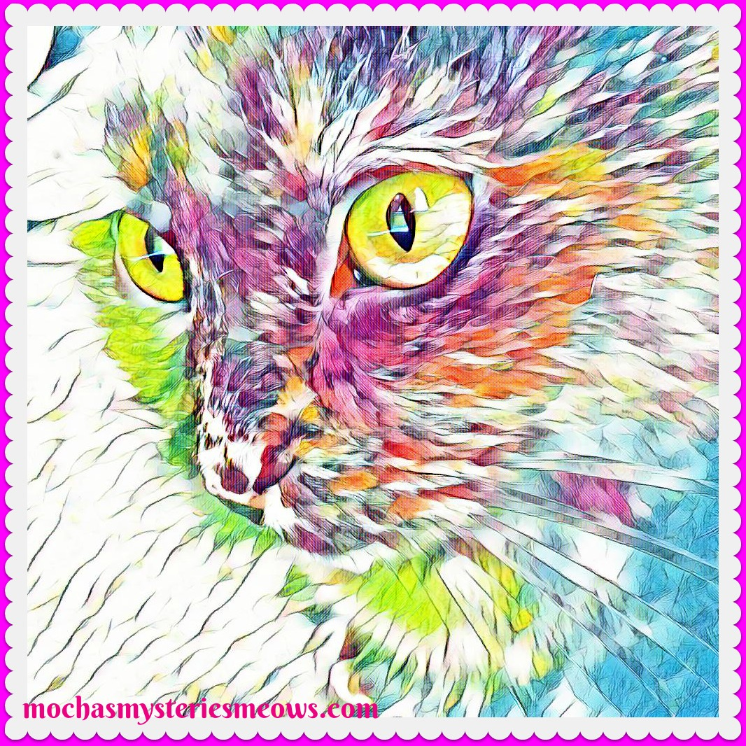 Melissa\'s Mochas, Mysteries and Meows: Caturday Art