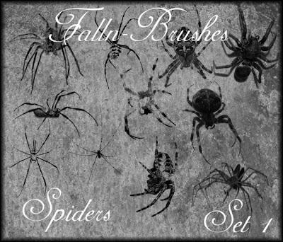 pincel de araña
