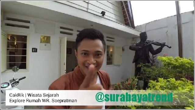 Rumah WR Supratman - Kemerdekaan Indonesia tidak luput adanya jasa Para Pahlawan, termasuk jasa WR Soepratman. Siapakah WR Soepratman? beliau adalah pencipta lagu Indonesia Raya. Sudah tau rumah WR Supratman di Surabaya? Beginilah kondisinya.