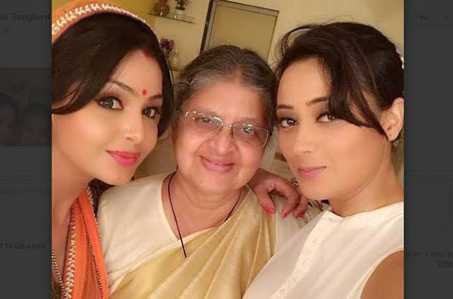 When Shubhangi Atre 'Angoori' Surprised Shweta Tiwari 'Bindiya'
