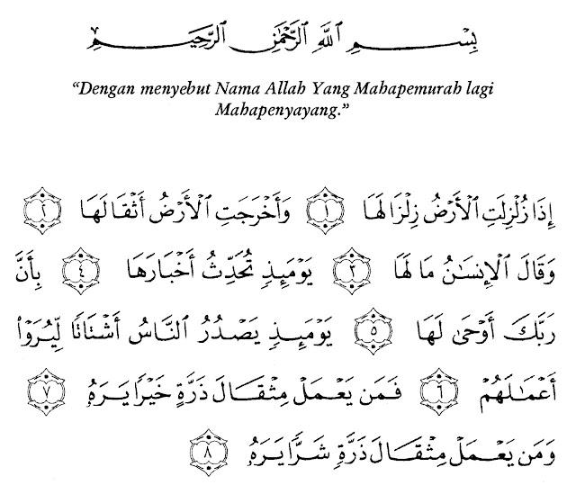 Surah Surah Pendek Al Quran Ilmu Pengetahuan Tak Berbatas