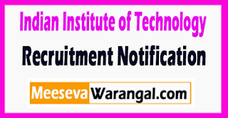 IIT Bombay (Indian Institute of Technology) Recruitment Notification 2017