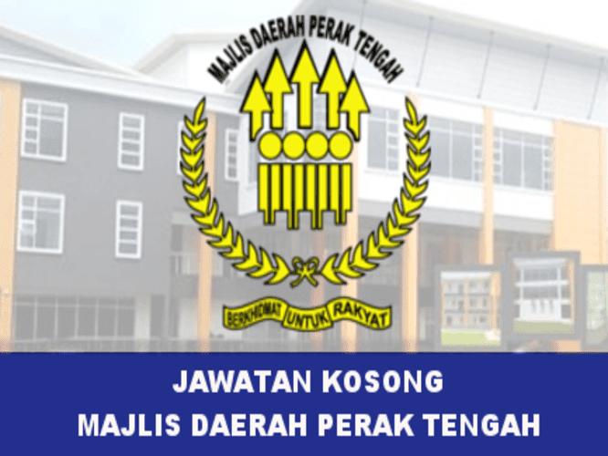 Iklan Jawatan Kosong Majlis Daerah Perak Tengah (4 Disember 2017)