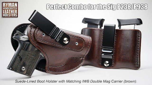 Boot Holster and Mag Carrier by Ryman Holsters