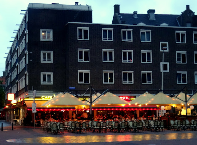 Outdoor cafes Rotterdam, the Netherlands