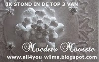 In de top 3 bij moeders mooiste September 2013