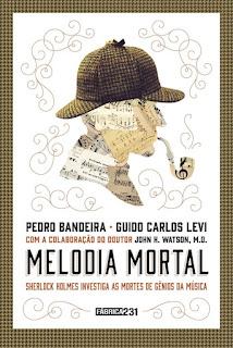 Resultado de imagem para MELODIA MORTAL Sherlock Holmes investiga as mortes de gênios da música