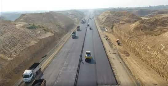 60 Km Hasan Abdal Havelian Section of Hazara Mortorway is near completion