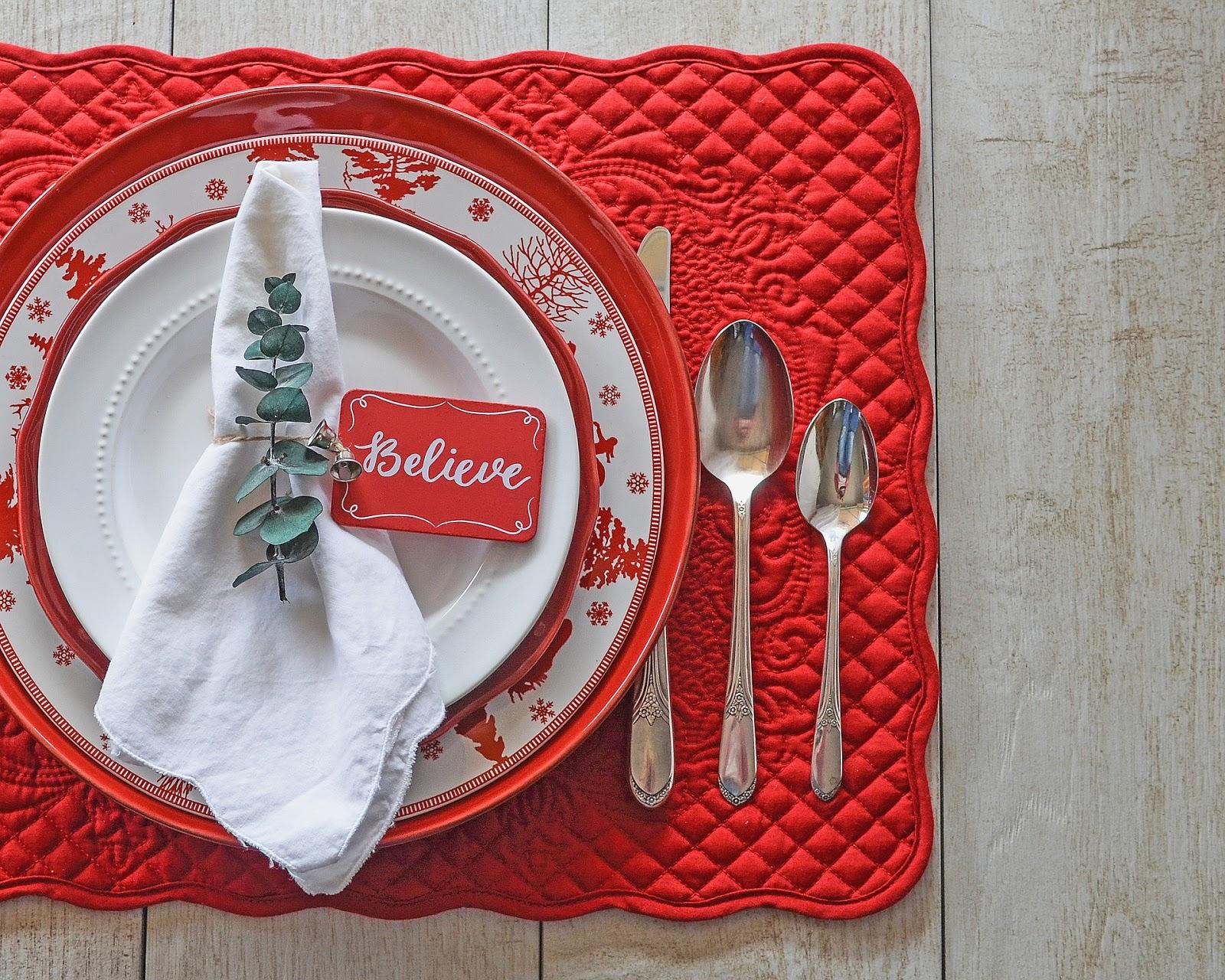 Piegare Tovaglioli Carta Natale come apparecchiare la tavola di natale - mamma today - una