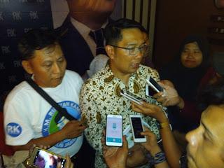 Ridwan Kamil Sebutkan Ciri-ciri Wakilnya di Pilgub Jabar 2018