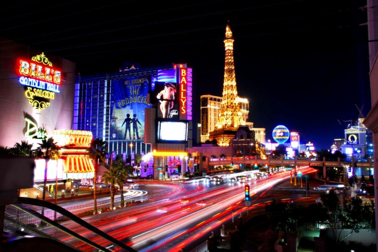 Las Vegas Night Light Hd Wallpaper All Wallpapers Desktop