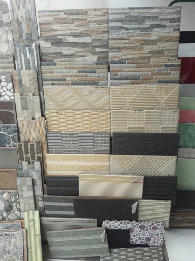 35 Motif  Keramik  Dinding Teras  Depan  Rumah yang Modern