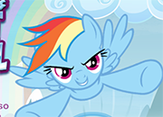 Rainbow Dash Falls Flight School juego