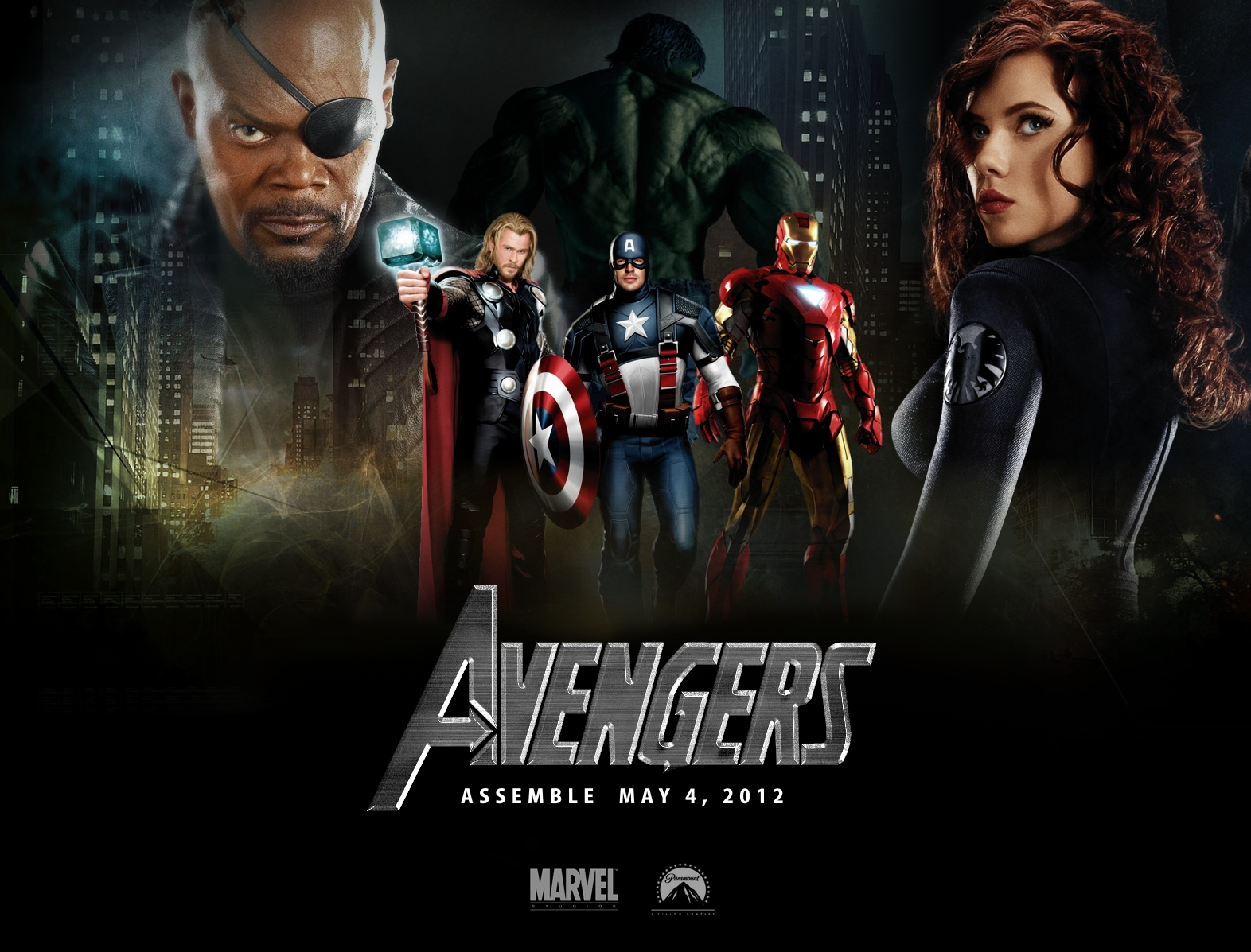 The Avengers Movie: Beautiful HD Wallpapers: The Avengers 2012 Movie Wallpaper #2