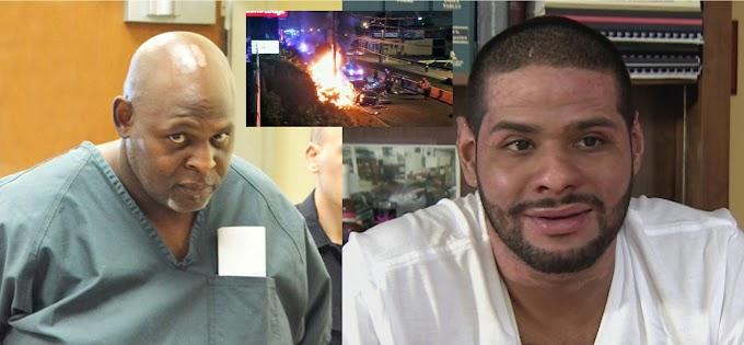 Ex fugitivo que provocó accidente en el que dominicanos se prendió en candela culpable de cargos criminales
