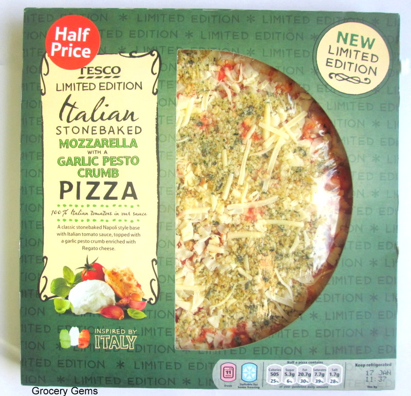 Grocery Gems Review Tesco Limited Edition Mozzarella