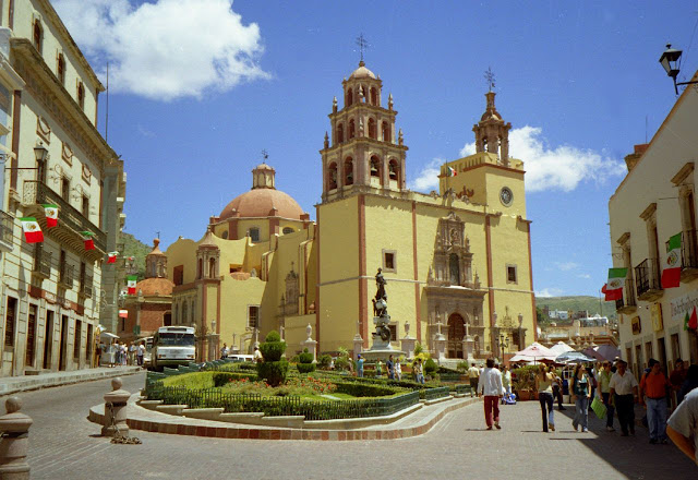 Plaza de la Paz, Guanajuato