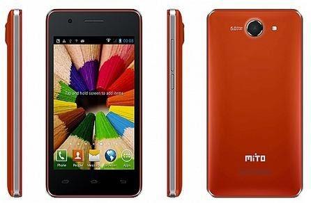 Mito Fantasy Mini A260, Harga spesifikasi Android 4G Lokal Bawah 1 Juta