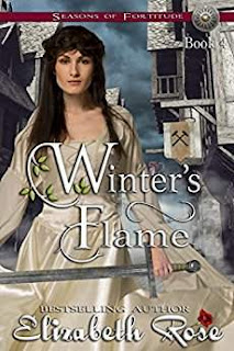 Winter's Flame - medieval historical romance by Elizabeth Rose