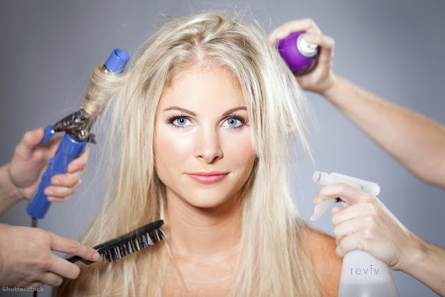 Tips to help women who are losing their hair by barbies beauty bits and revivhair placode booster