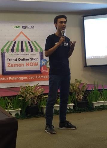 Meningkatkan Omzet Penjualan Online Shop dengan Chatbot BOTIKA di LINE 1